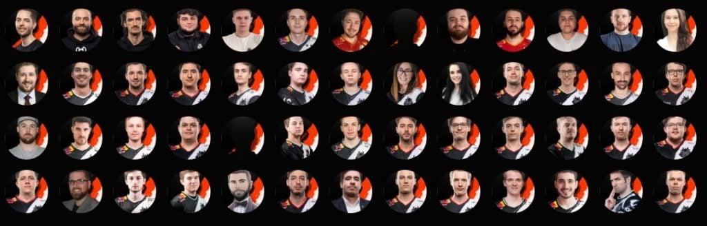 Danh sách 52 thành viên trong đội G2 Esports tháng 3/2020