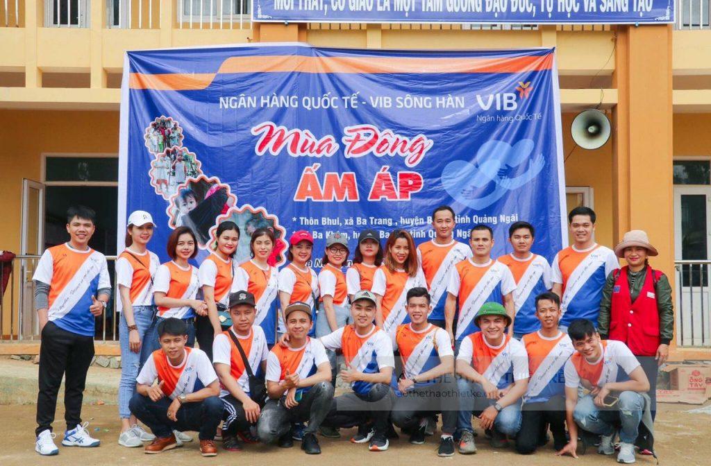 Áo bóng đá đội VIB cung cấp bởi Vinasport