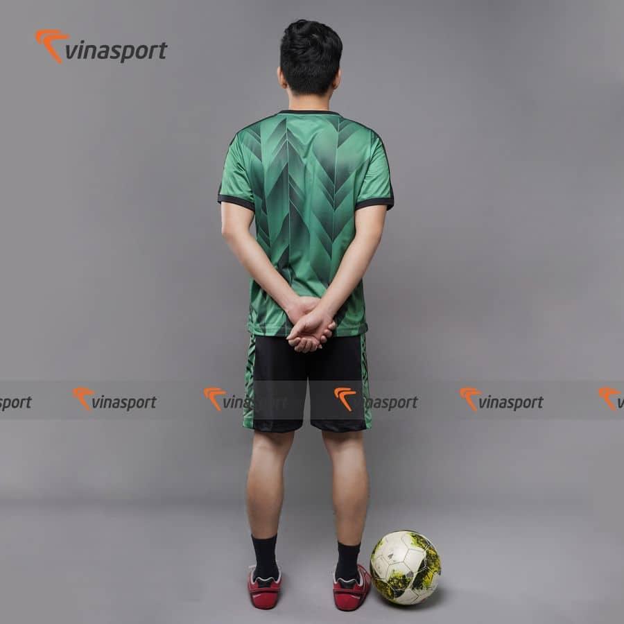 Quần áo bóng đá, đá banh Vinasport Vision Green