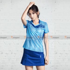 Quần áo thi đấu cầu lông nữ Vinasport Sky 4