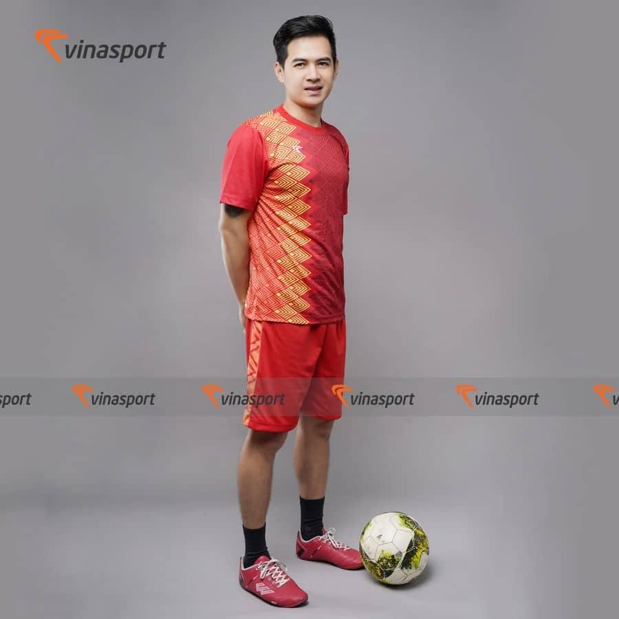 Quần áo bóng đá, đá banh Vinasport Dragon Red