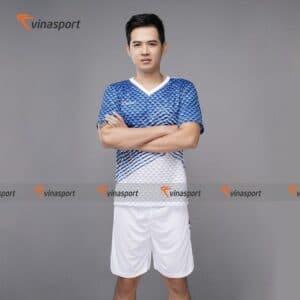 Quần áo bóng đá, đá banh Vinasport Triangle Blue