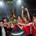 Việt Nam lần đầu vô địch giải Esports thế giới