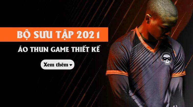 banner bộ sưu tập áo thun game 2021